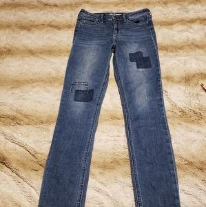 Hollister high waisted skinny jeans